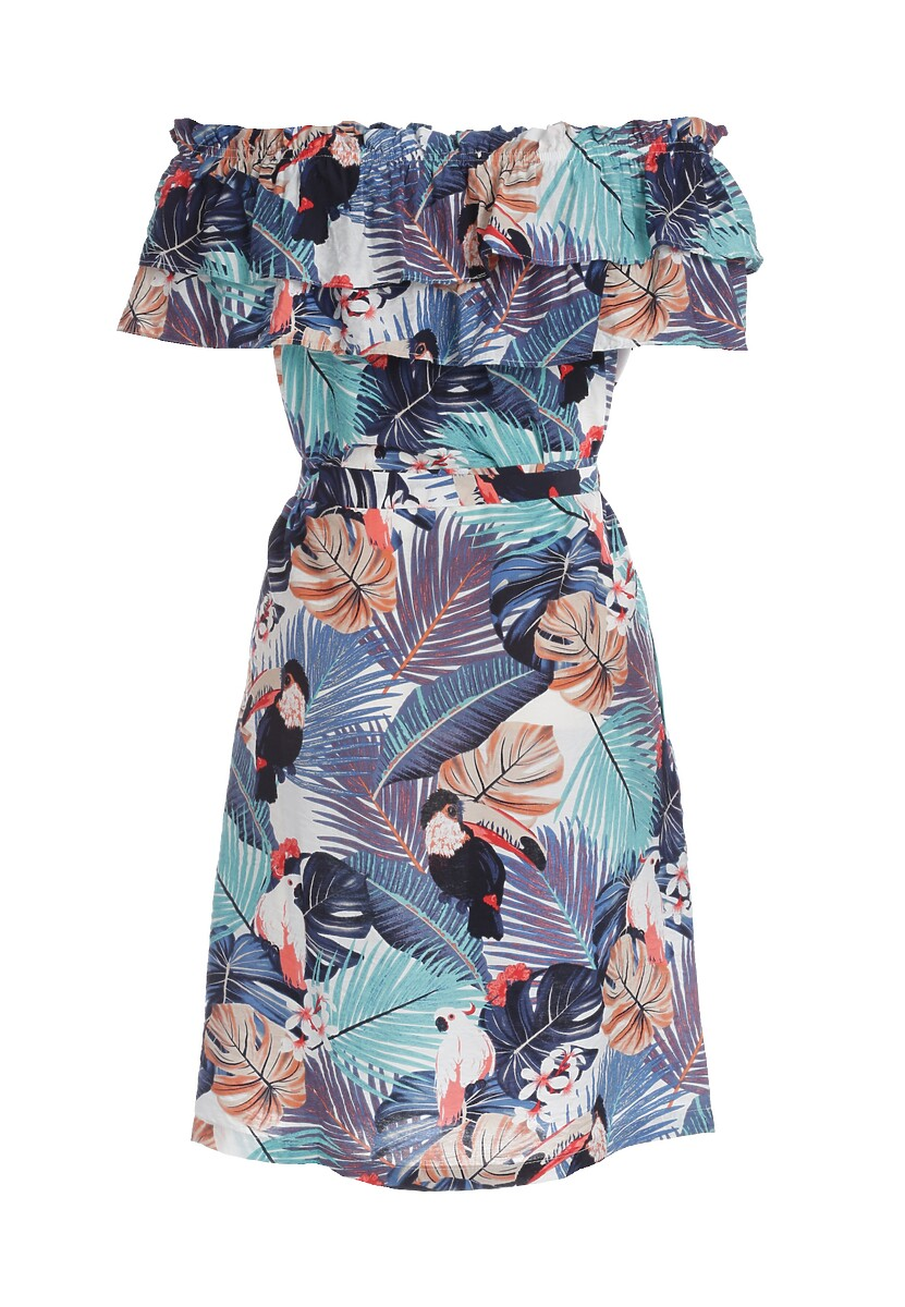 Granatowa Sukienka Prop