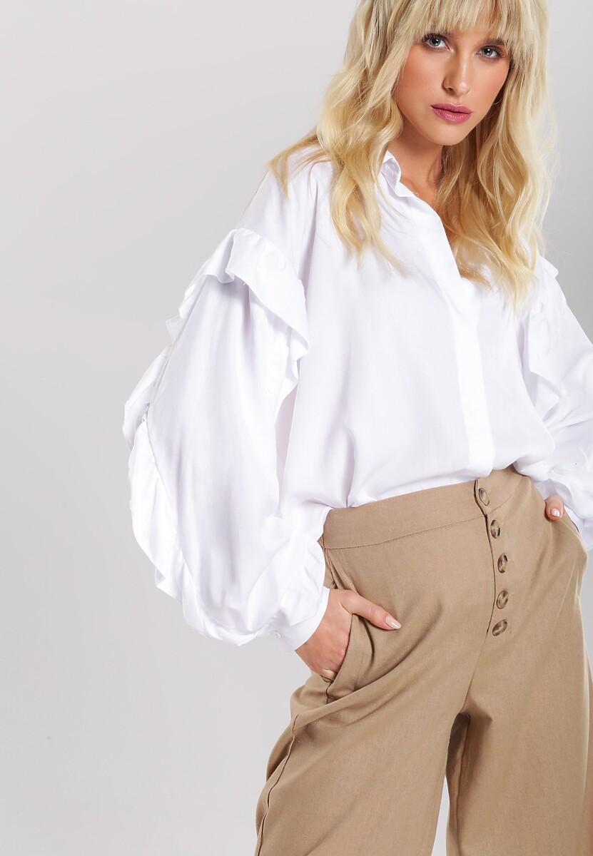 Beżowe Spodnie Achieving