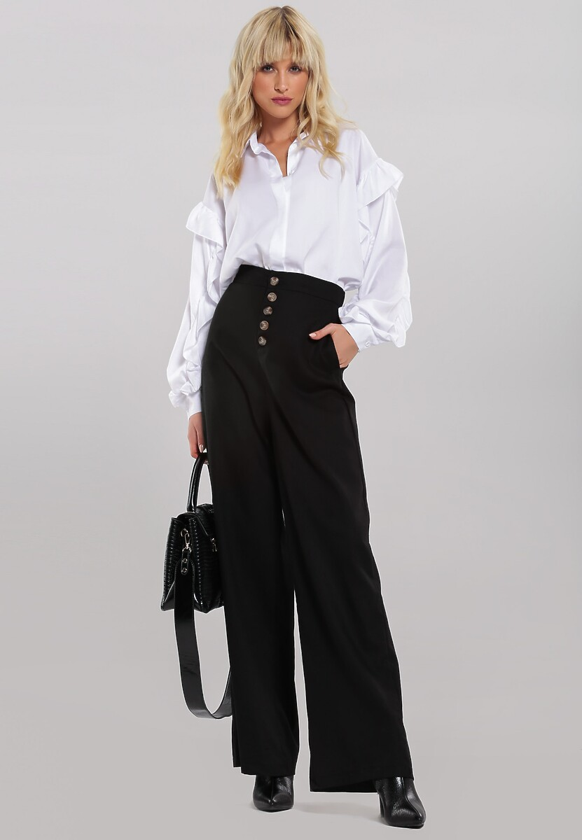 Czarne Spodnie Achieving