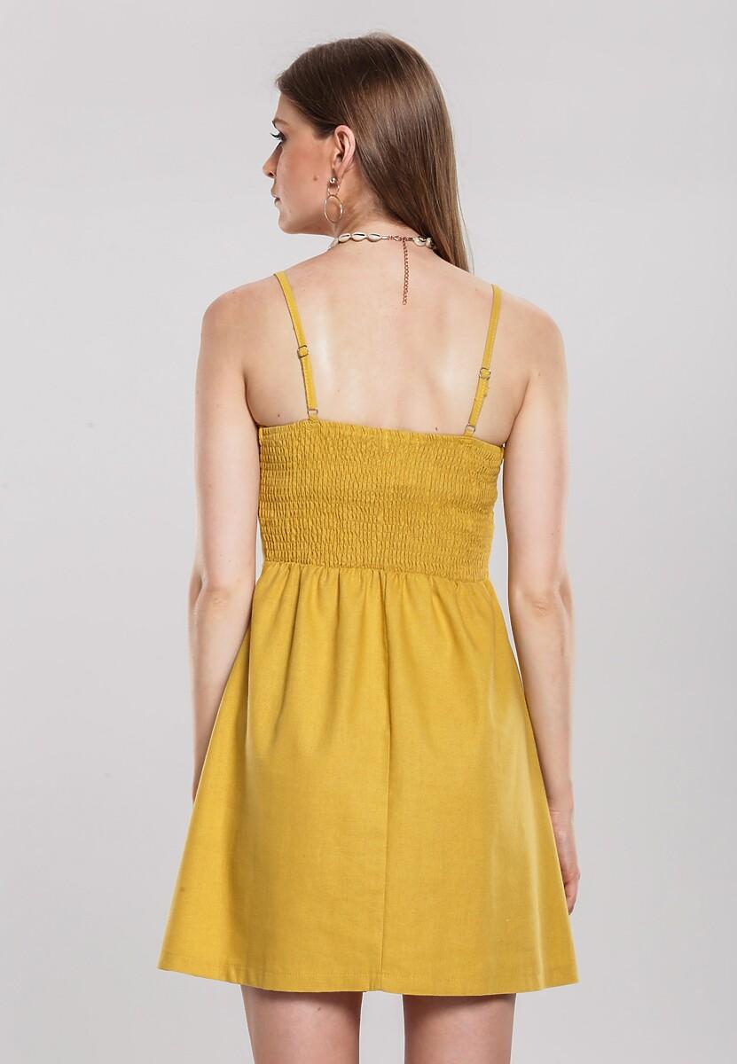 Żółta Sukienka Vida Loca