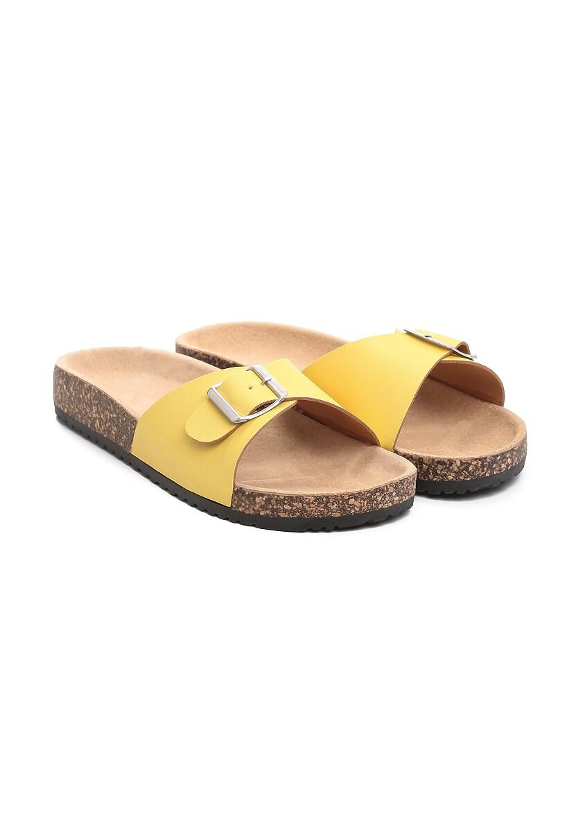 Żółte Klapki Sweetie-Pie