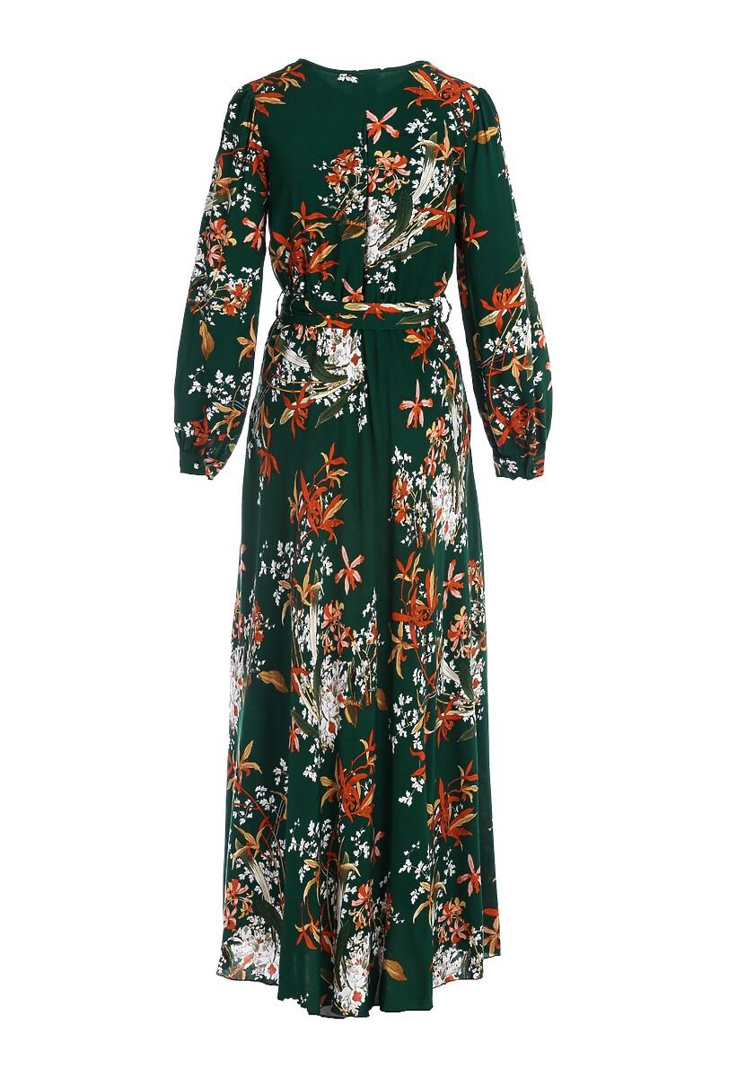 Zielona Sukienka Narrow