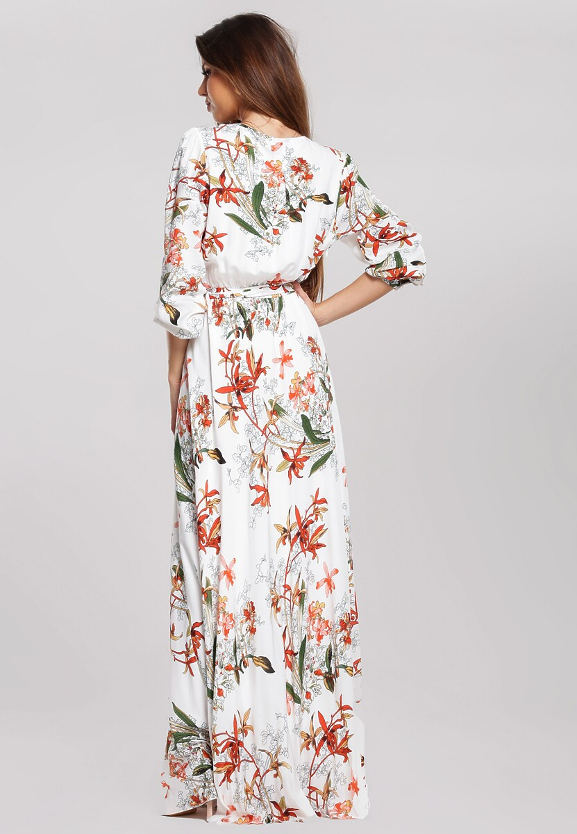 Biała Sukienka Narrow