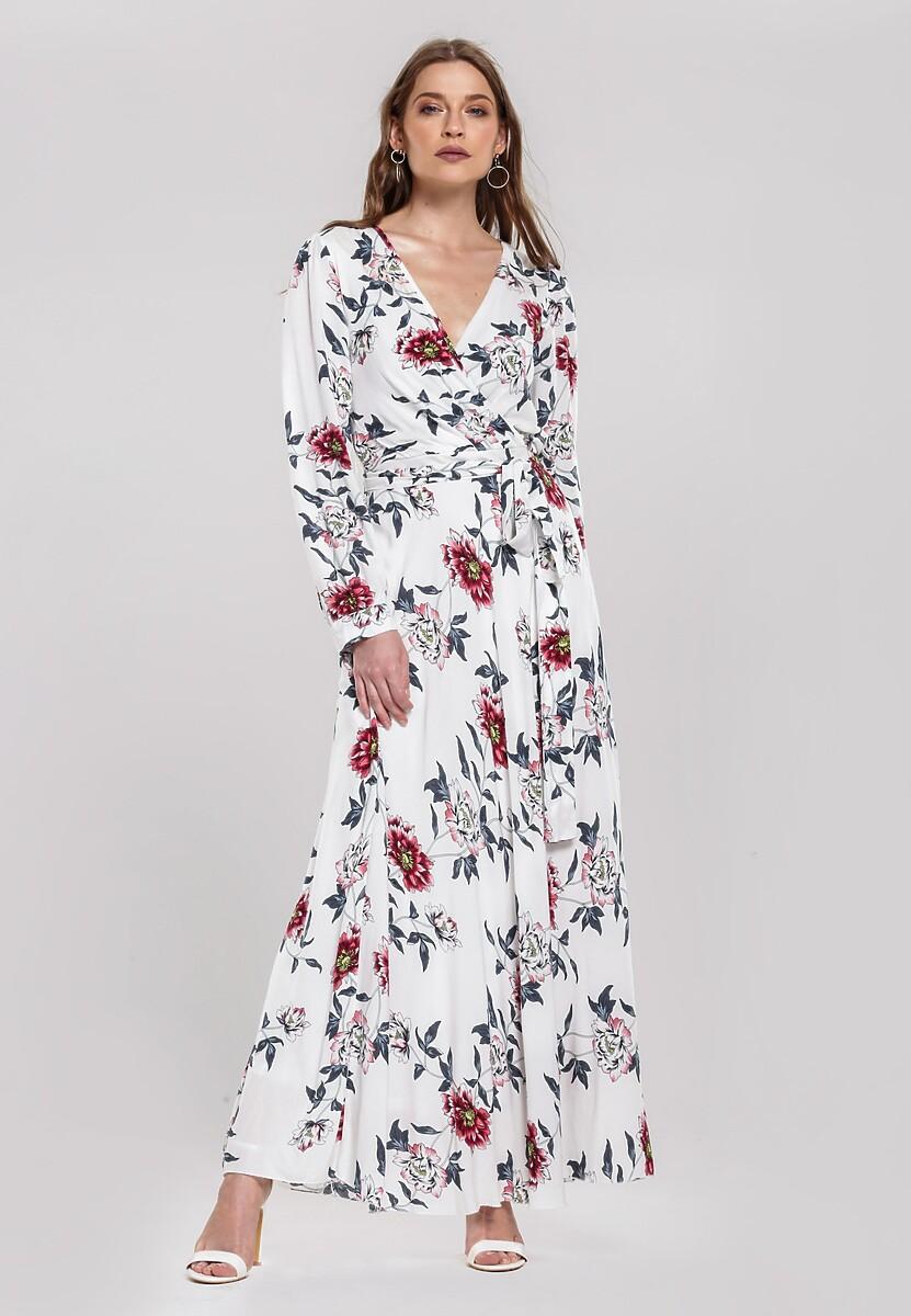 Biała Sukienka Filled