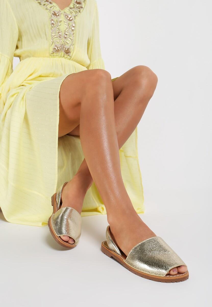 Złote Sandały Bland Kod produktu: 100085