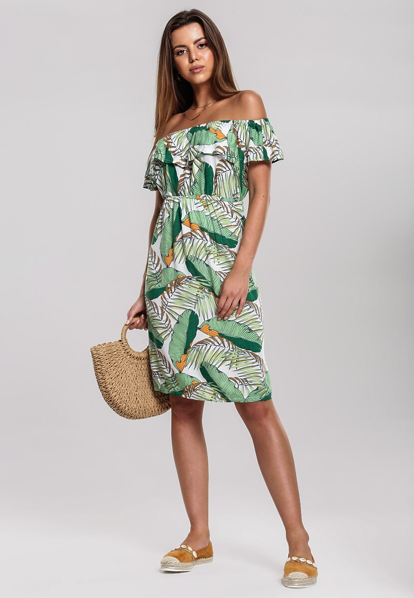 Zielona Sukienka Bask