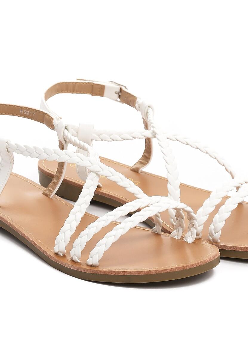 Białe Sandały Sand