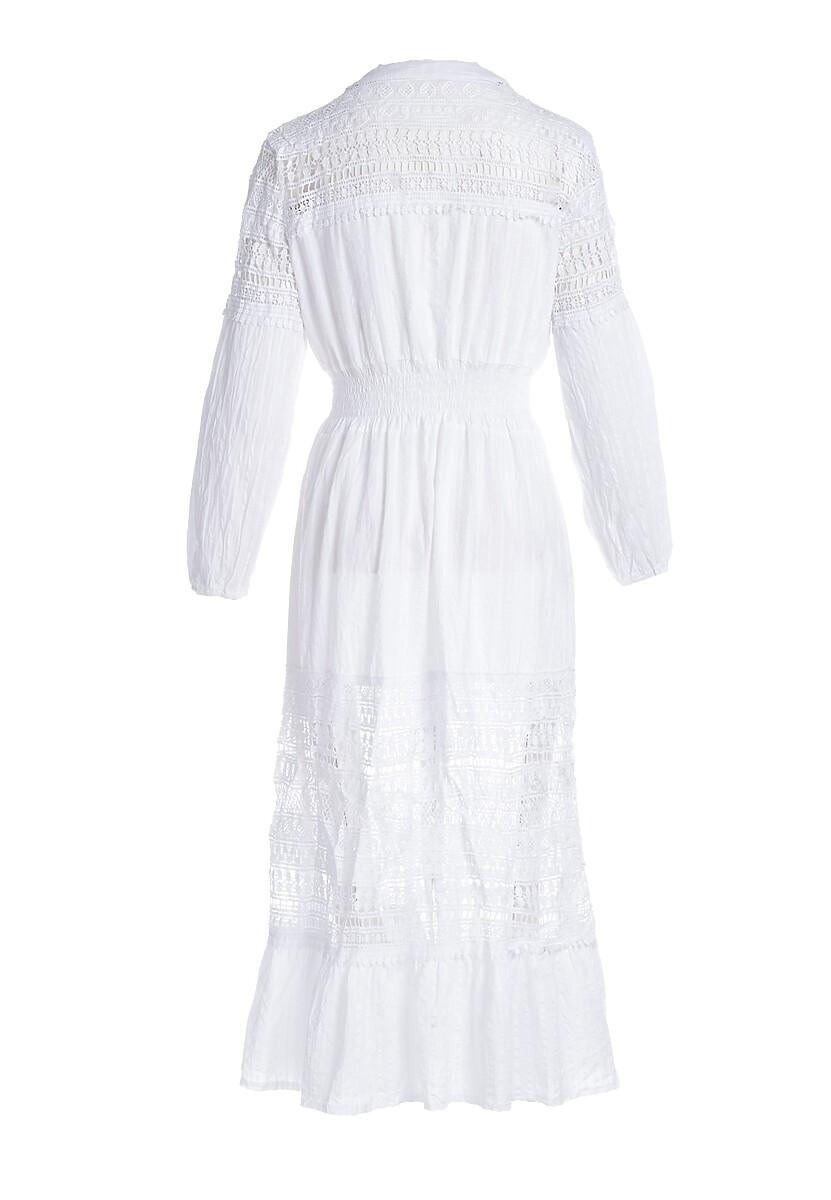 Biała Sukienka Swimming Pool