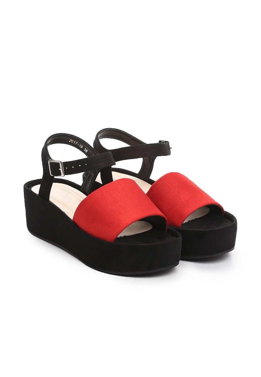 Czerwone Sandały Back