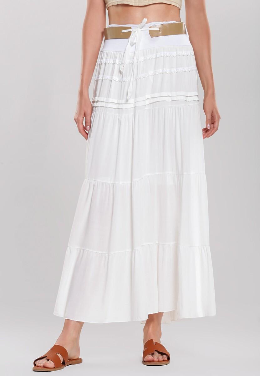 Biała Spódnica Lagomorph