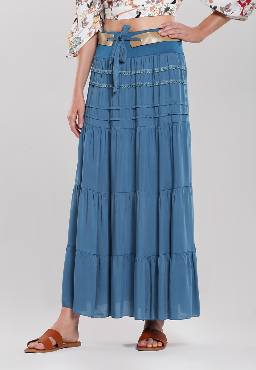 Niebieska Spódnica Lagomorph