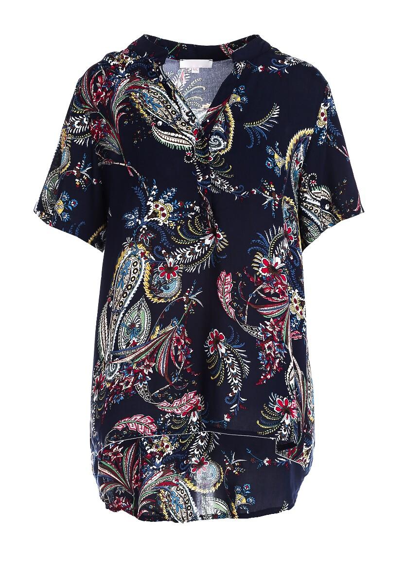 Granatowa Koszula Unbelievable Style