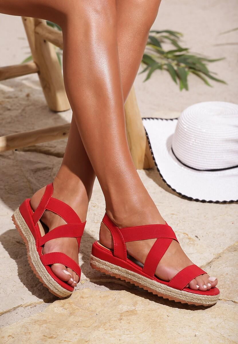 Czerwone Sandały Engineer