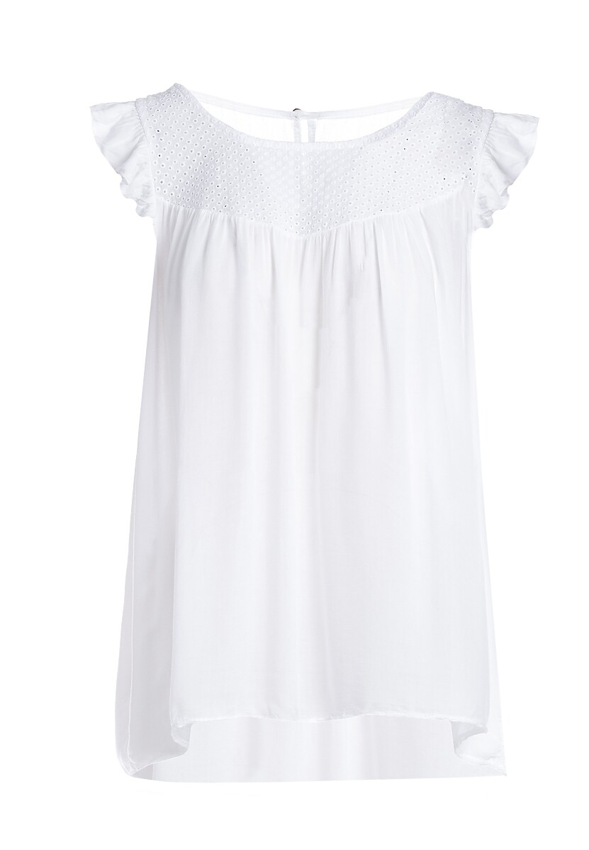 Biała Bluzka Bride Of The Sun