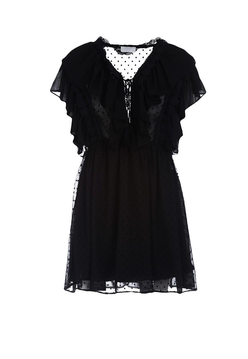 Czarna Sukienka Solar Eclipse