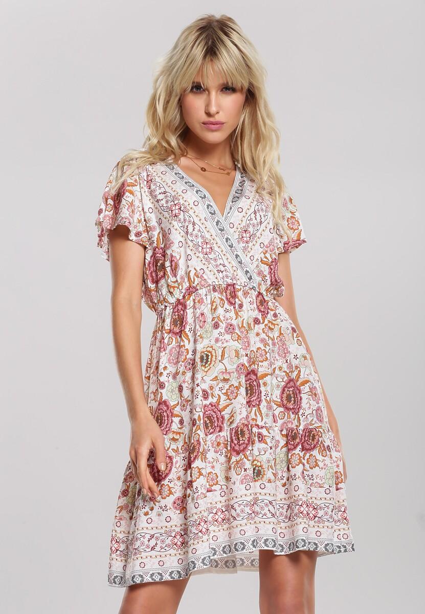 Biała Sukienka Aqua