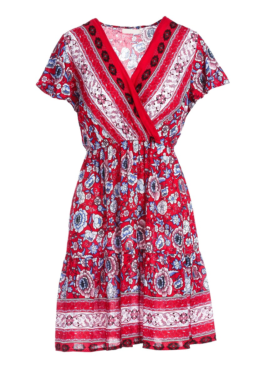 Czerwona Sukienka Aqua