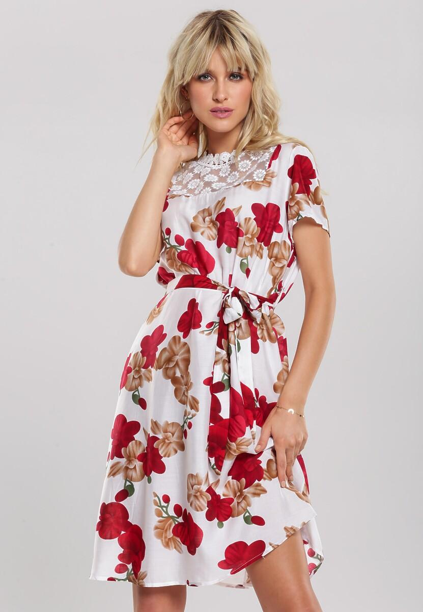 Biała Sukienka Behaviour