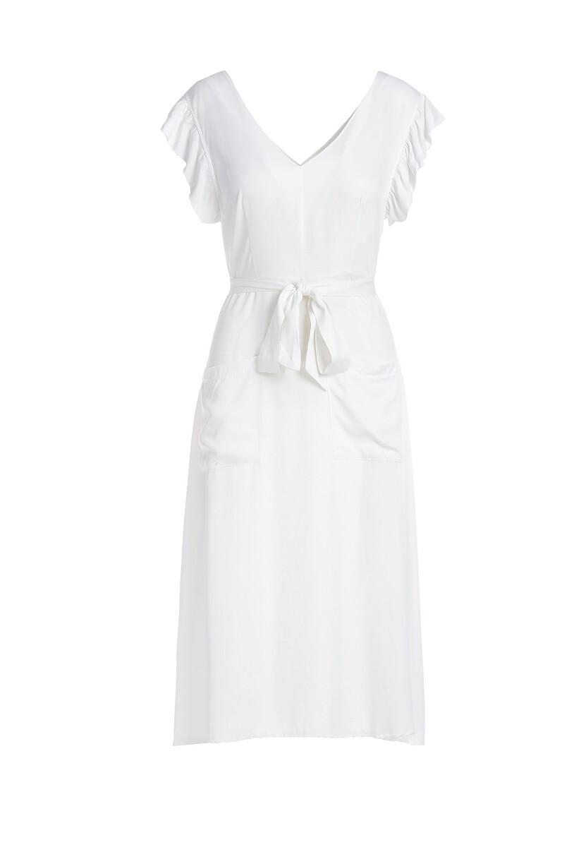 Biała Sukienka Mignonette