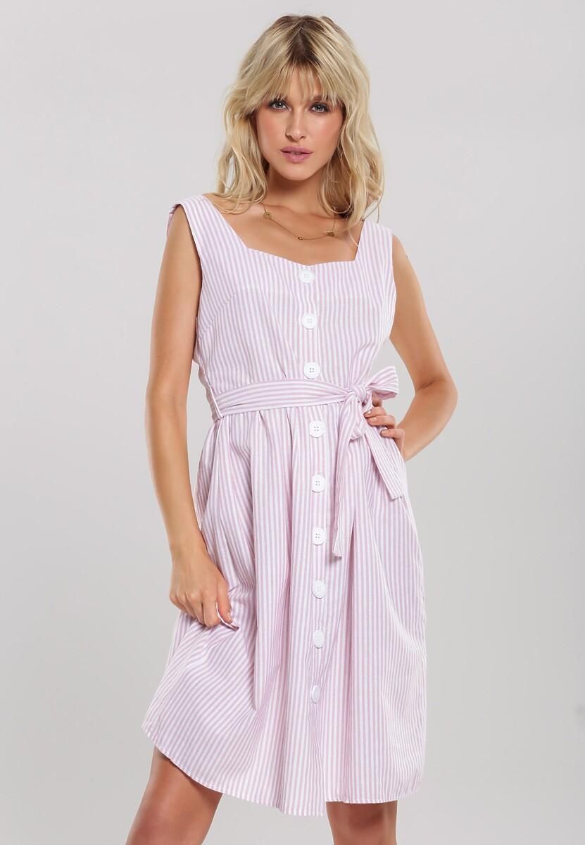 Jasnoróżowa Sukienka Smooth Along