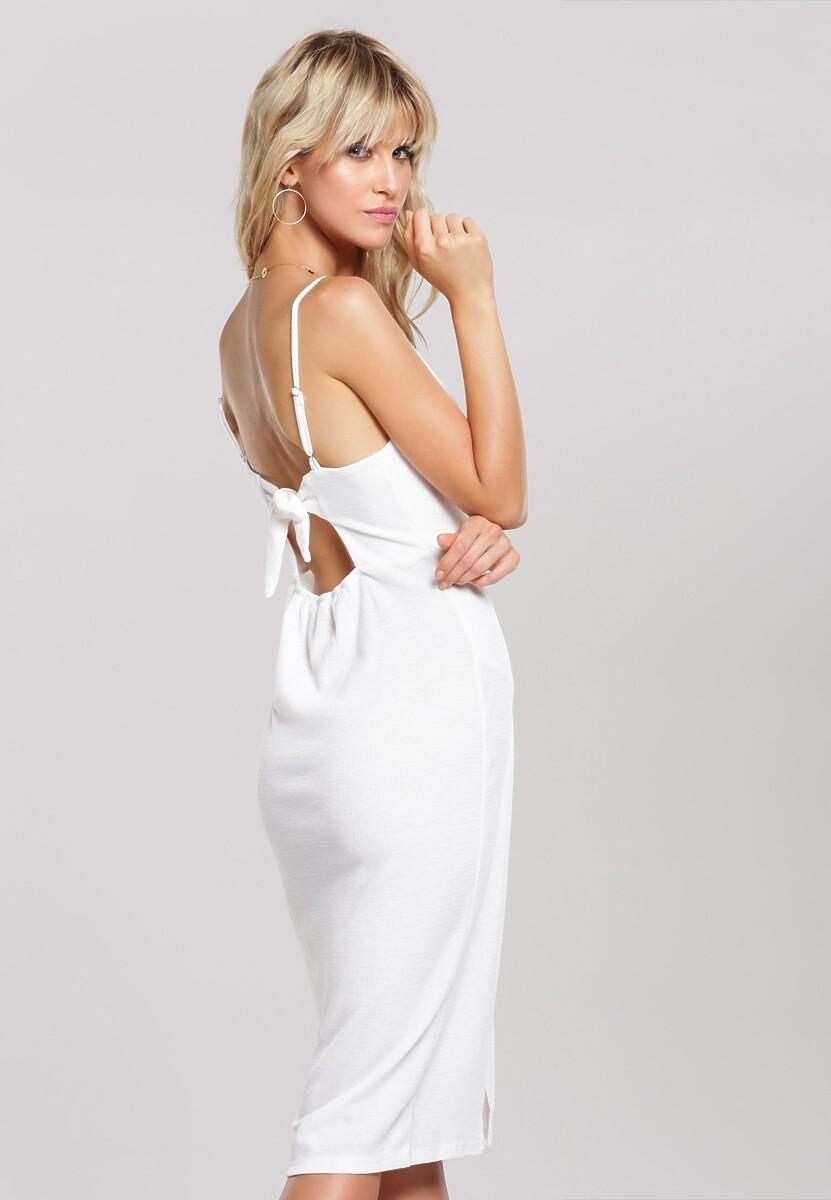 Biała Sukienka Jet Over