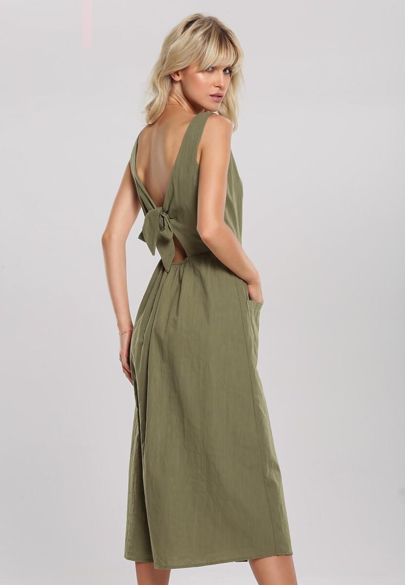 Zielona Sukienka Draw Near