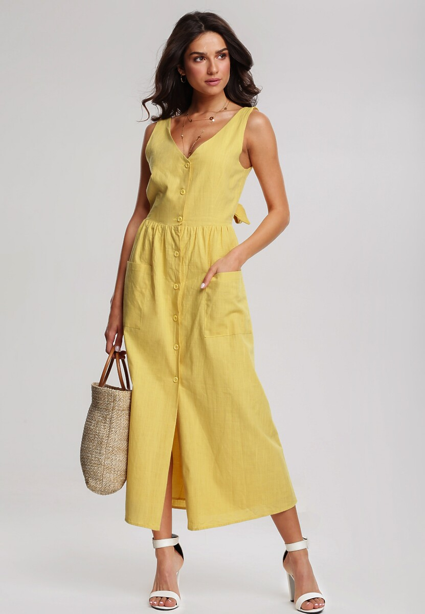 Żółta Sukienka Draw Near