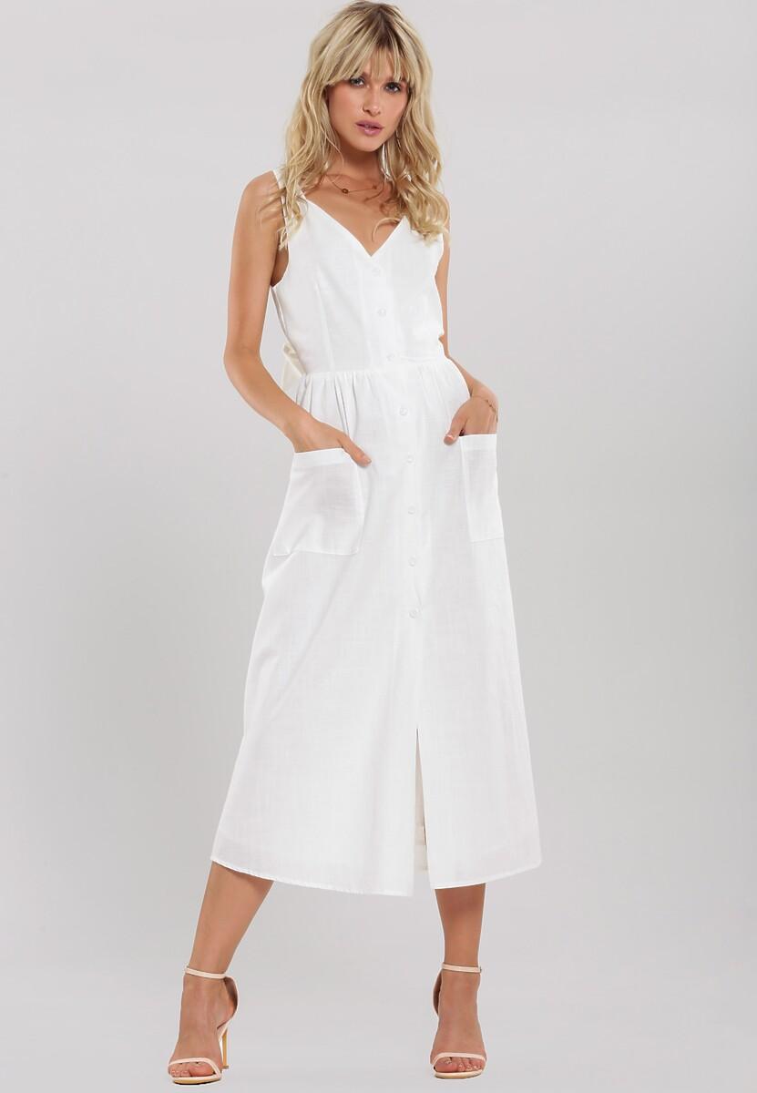 Biała Sukienka Draw Near