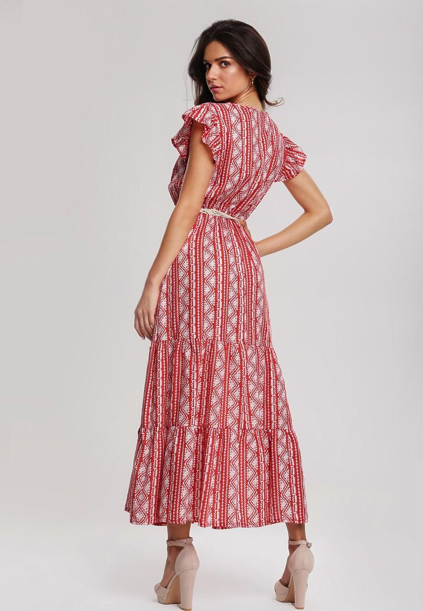 Czerwona Sukienka Be Convenient