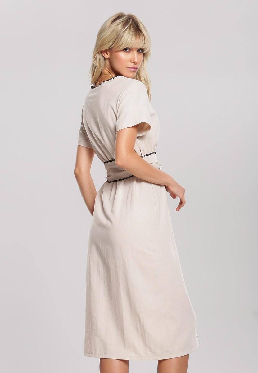 Beżowa Sukienka Move Toward