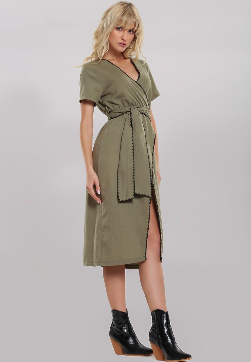 Zielona Sukienka Move Toward