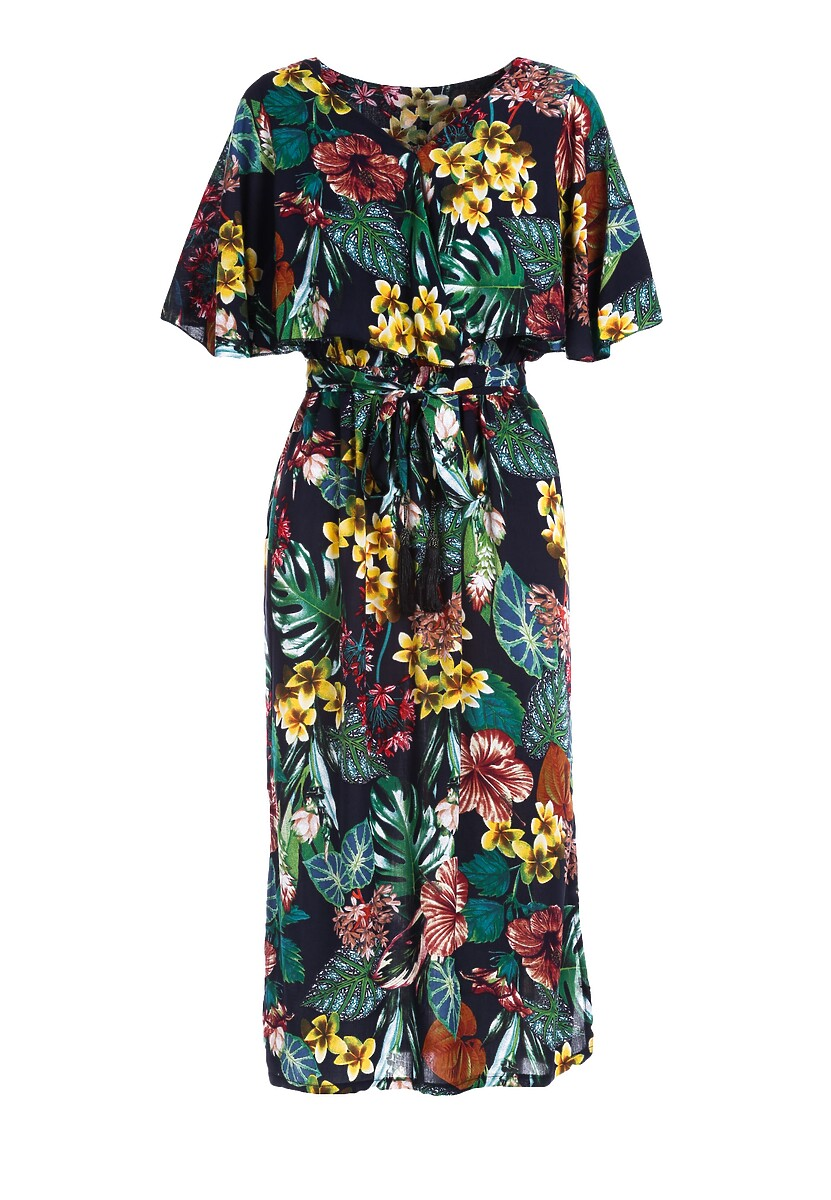 Granatowa Sukienka Indoubt