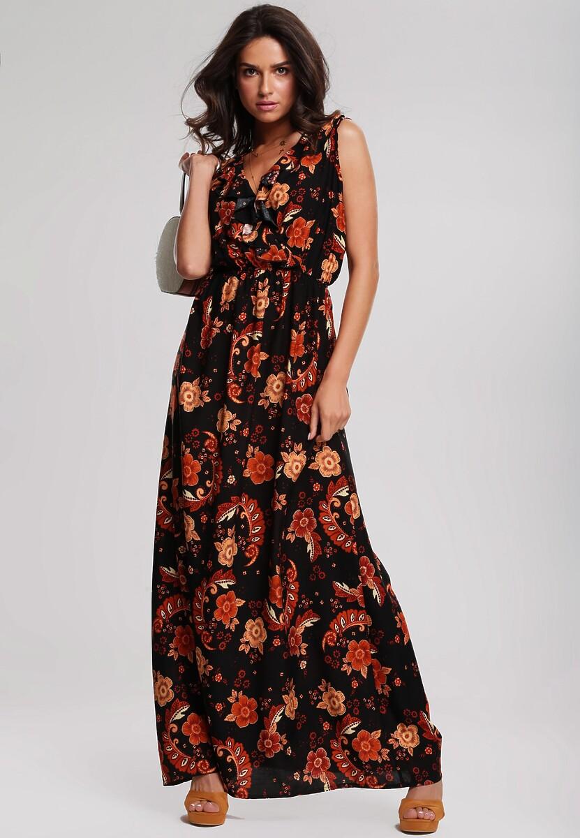Czarna Sukienka Pointed