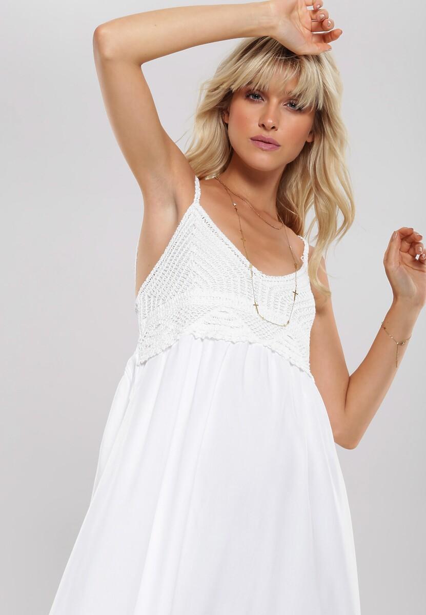 Biała Sukienka Sufficiently