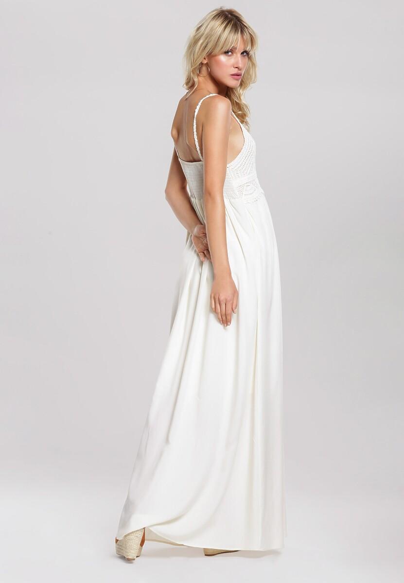 Kremowa Sukienka Sufficiently