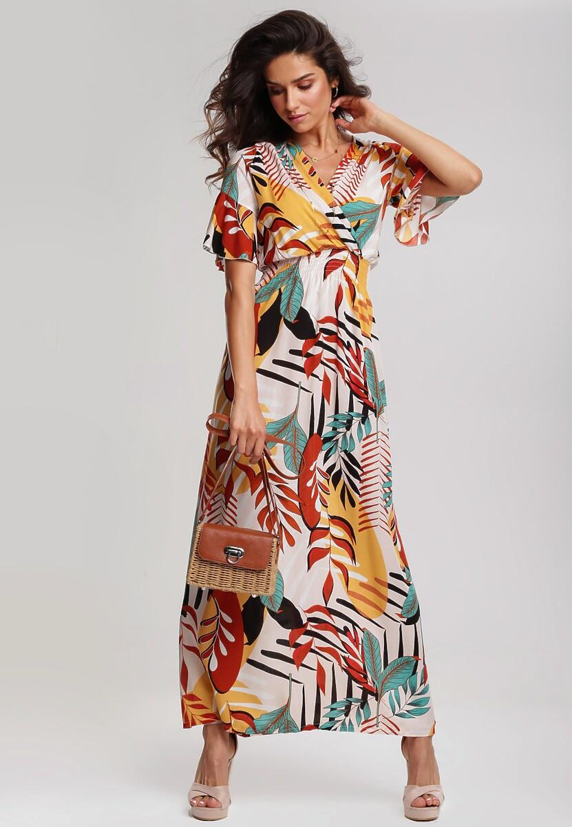 Jasnobeżowa Sukienka Biennial