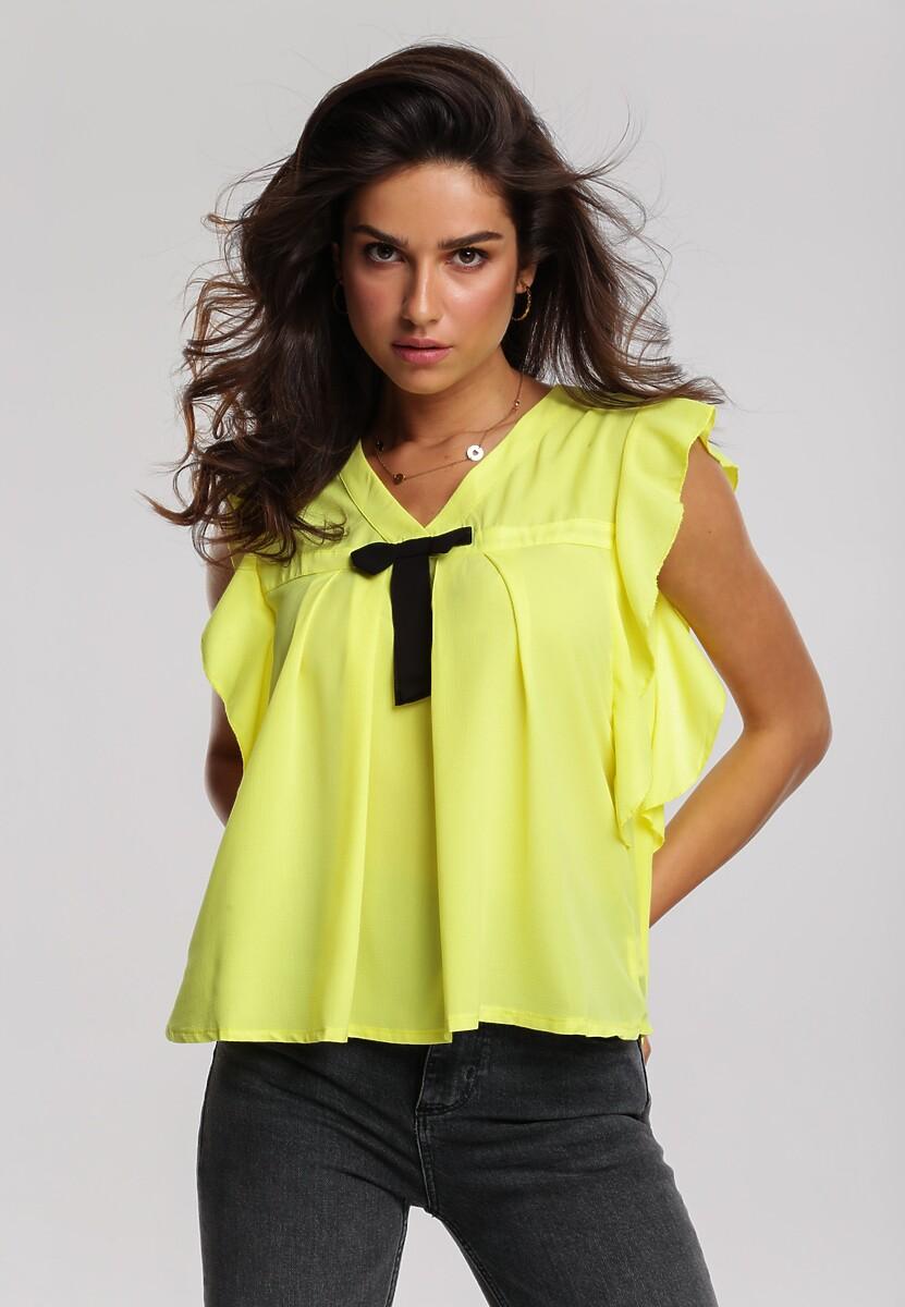 Żółta Bluzka Derange