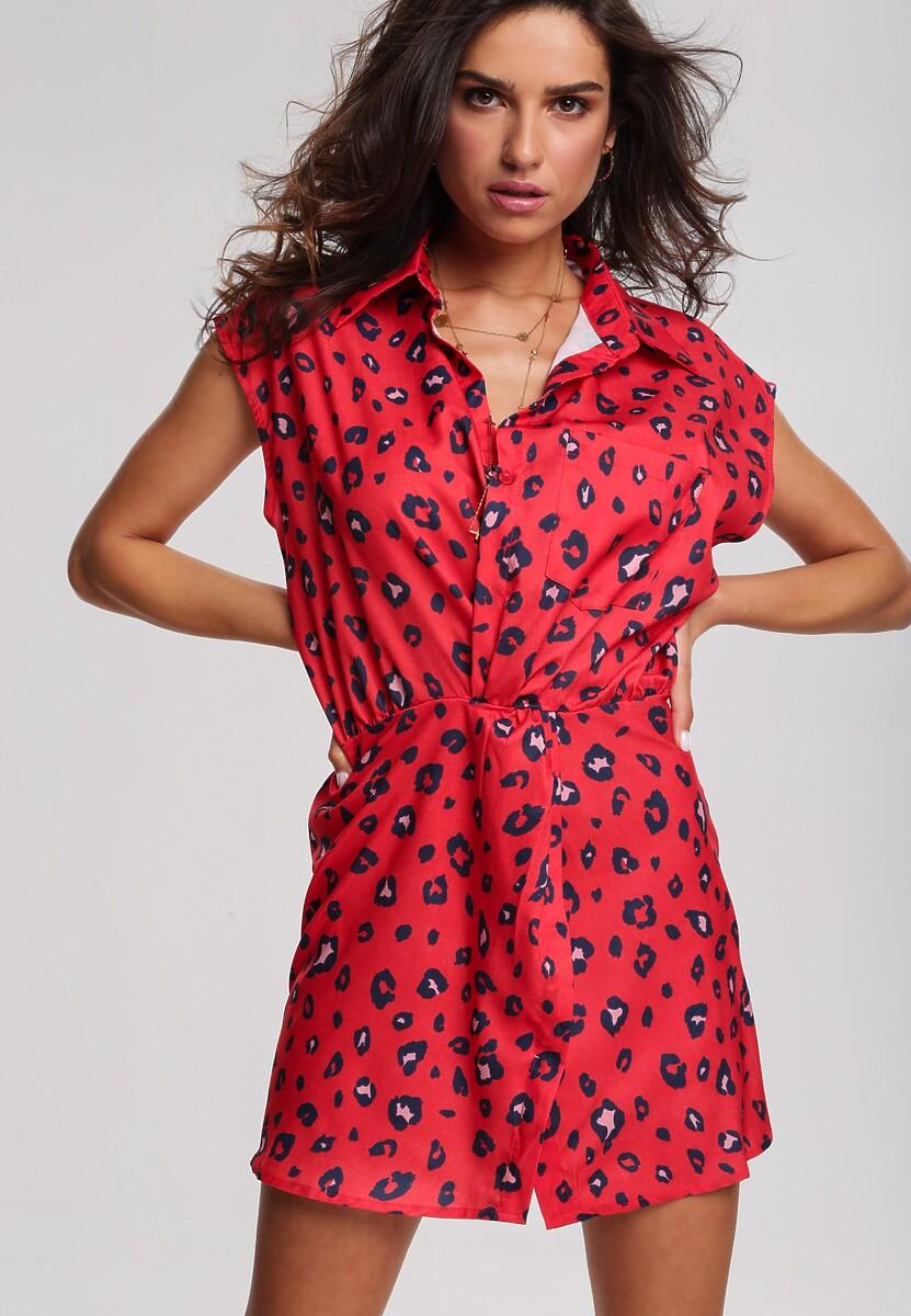 Czerwona Sukienka Creeper