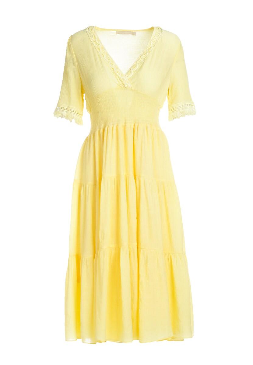 Żółta Sukienka River Of Daisies