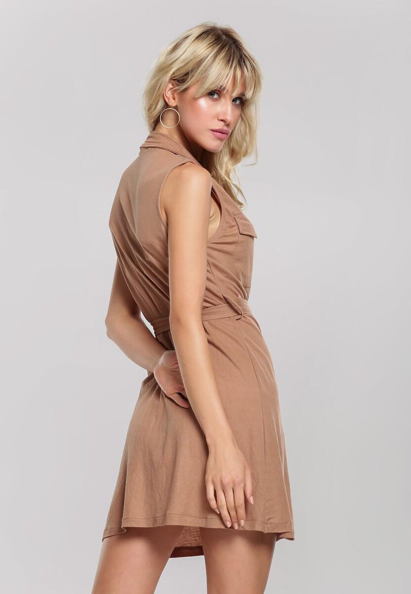 Brązowa Sukienka Loam
