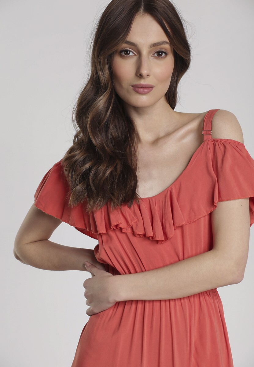 Czerwona Sukienka Chelgana