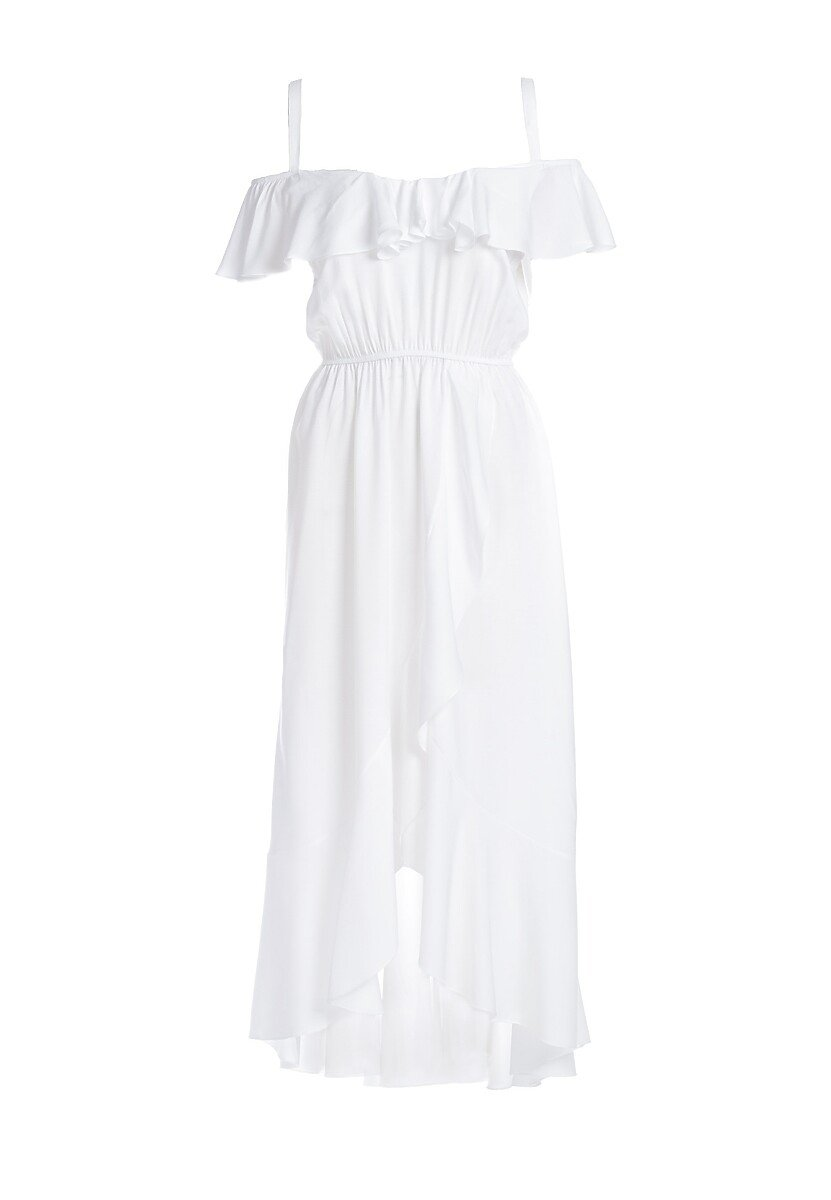 Biała Sukienka Chelgana