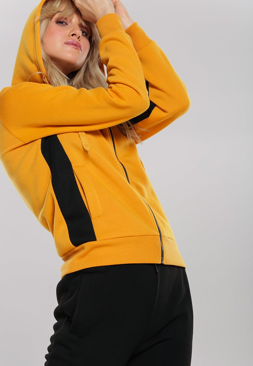 Żółty Komplet Dresowy Jayde