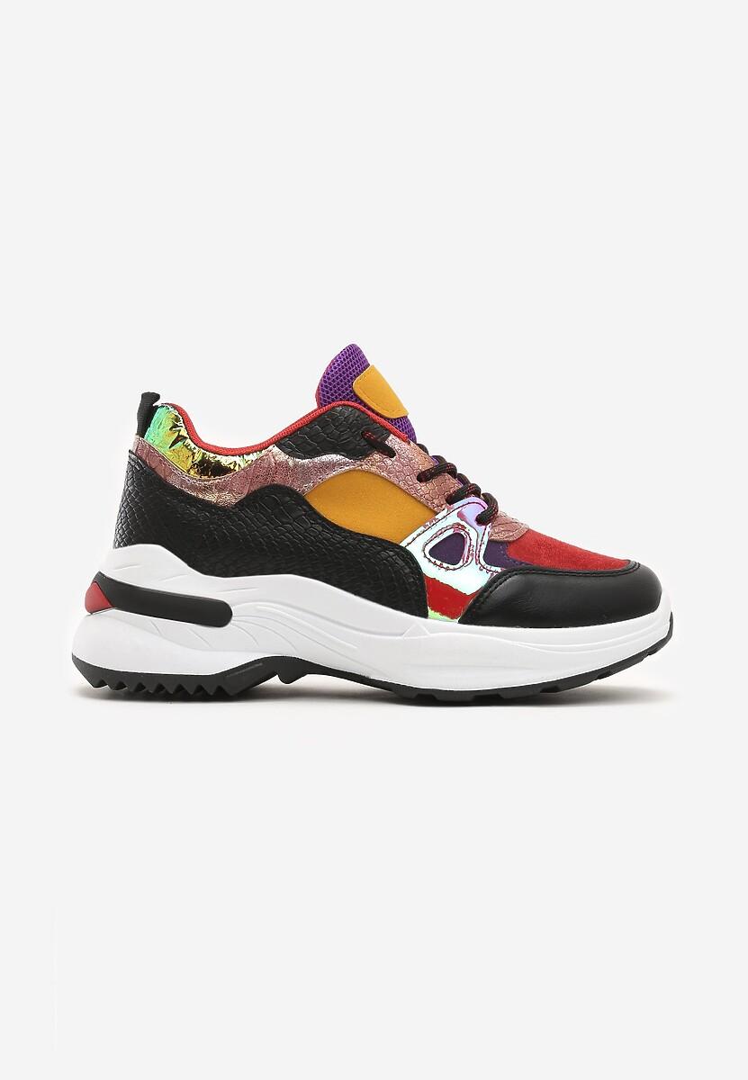Czerwone Sneakersy Boron