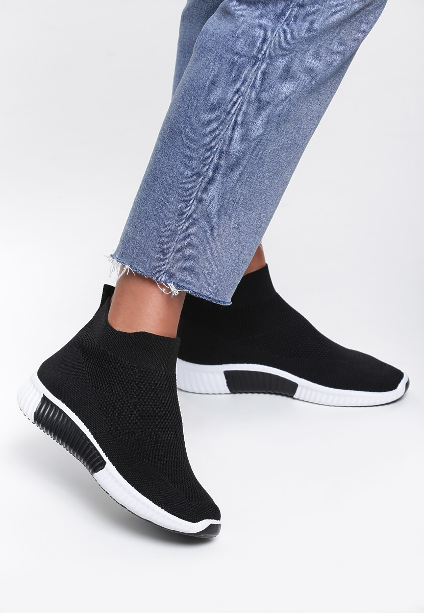 Czarne Buty Sportowe Xenon