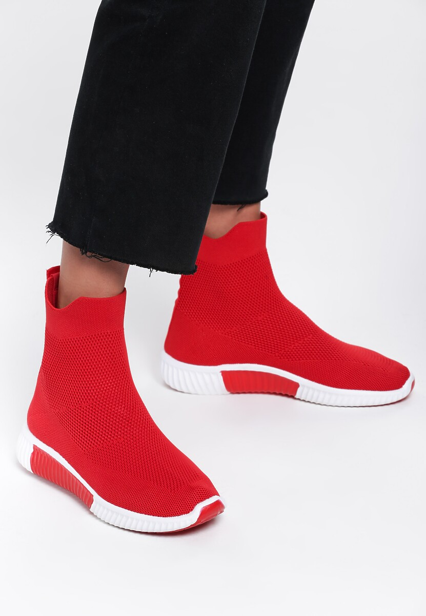 Czerwone Buty Sportowe Clamp