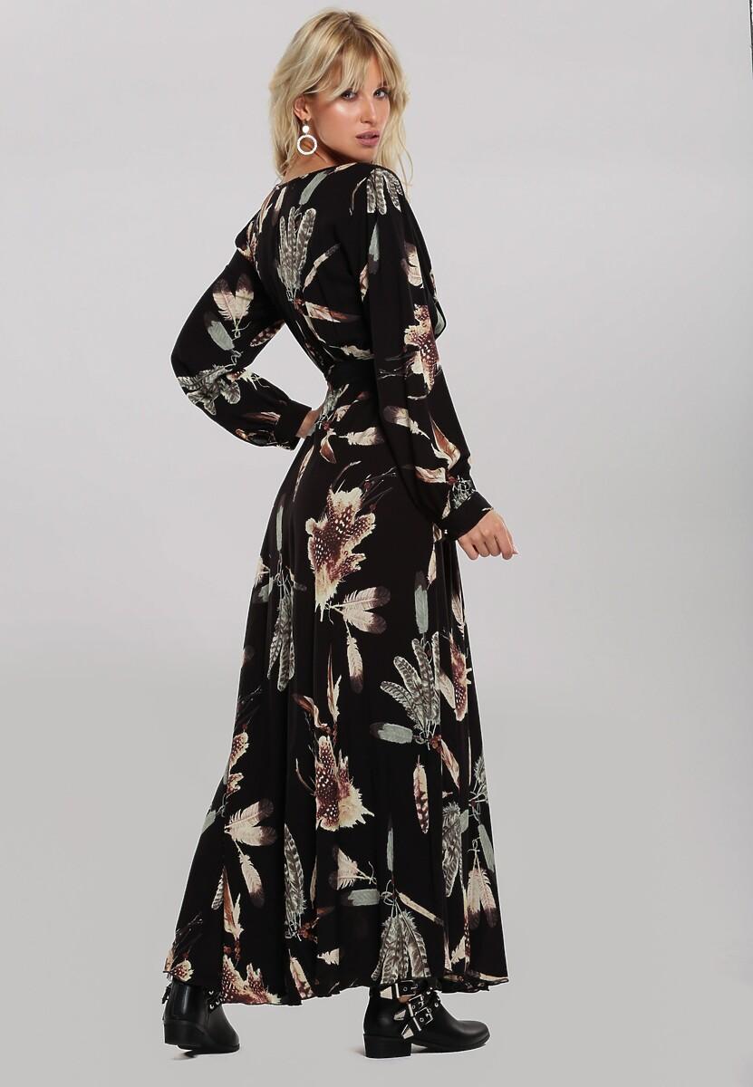 Czarna Sukienka Malani
