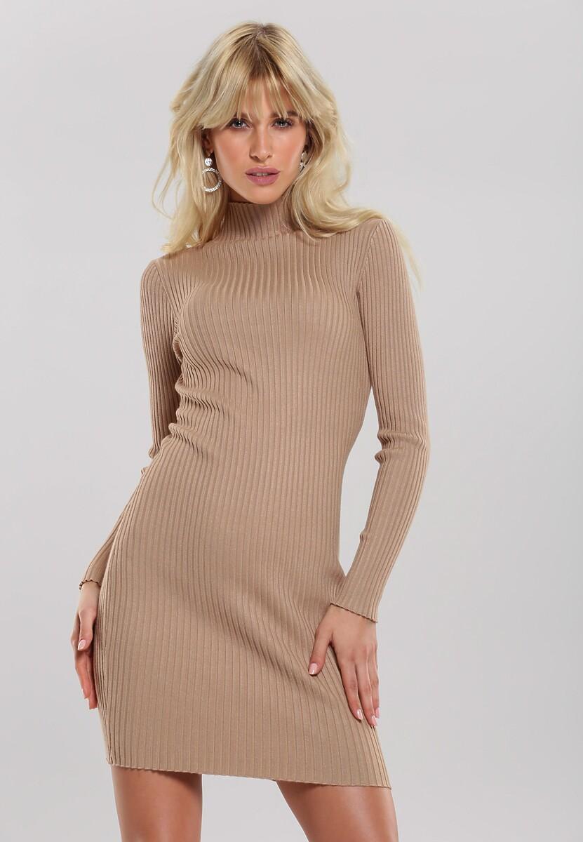 Beżowa Sukienka Sariyah