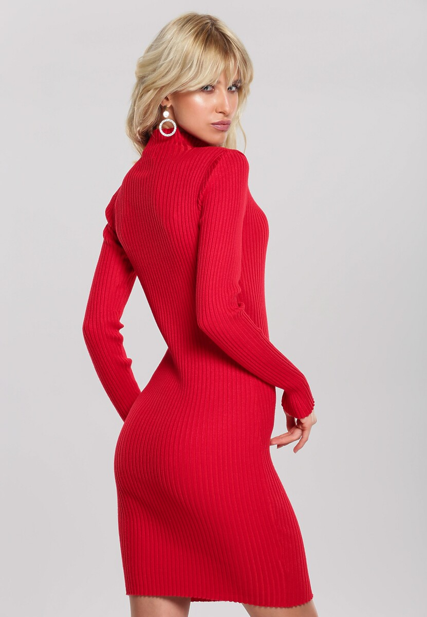 Czerwona Sukienka Sariyah