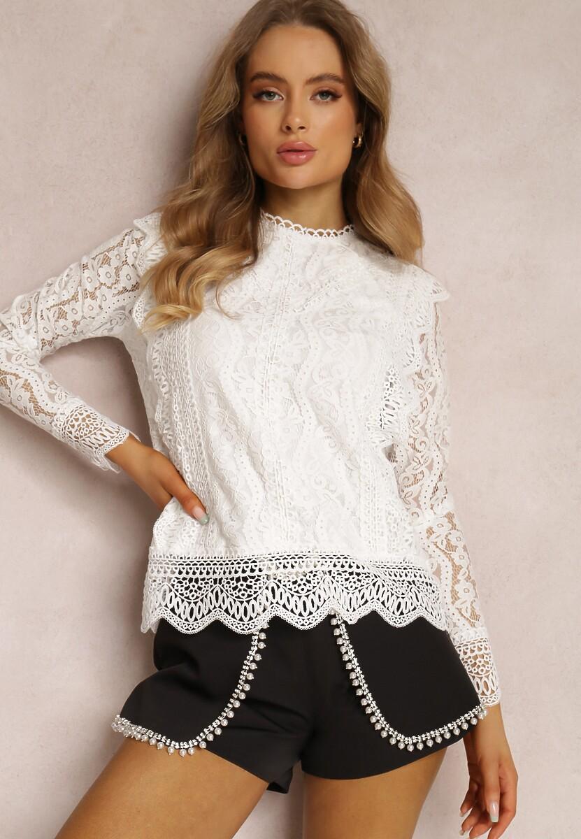 Biała Bluzka Carolyn